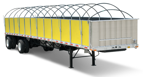 Side Kit Trailers (Great for LTL -partials- and FTL -full truckload-)